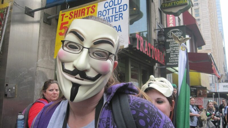 Anonymous team are threatening for goodwill